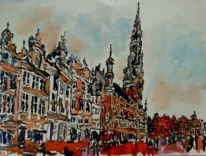 Le mendiant de Bruxelles